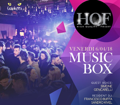 HQF - CARAGATTA - MUSIC BOX - Boccaccio Club