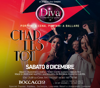 DIVA - CHARLESTON - Boccaccio Club