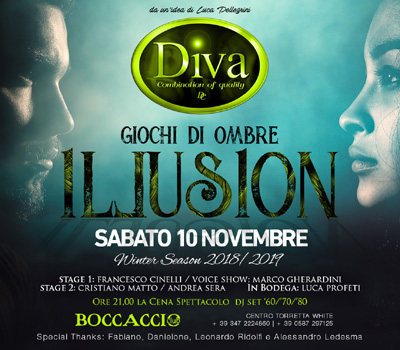 DIVA - ILLUSION - Boccaccio Club