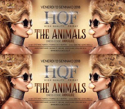 HQF - CARAGATTA - THE ANIMALS - Boccaccio Club