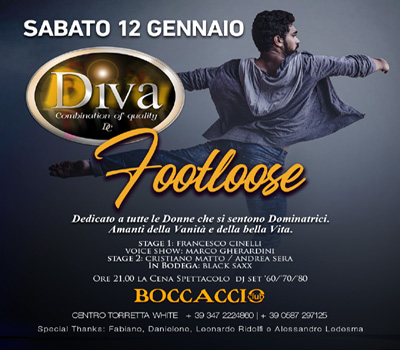 DIVA - FOOTLOOSE - Boccaccio Club