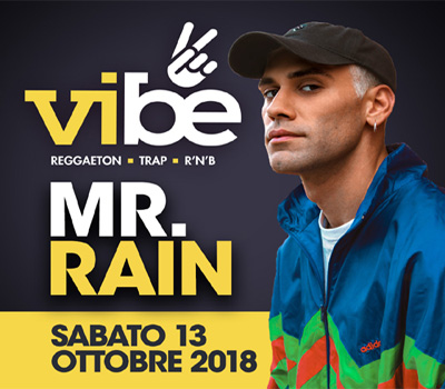 VIBE - MR. RAIN - Boccaccio Club