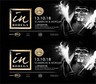 IN BODEGA - SCAMERCHE & MORGAN - Boccaccio Club