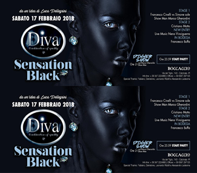 DIVA - SENSATION BLACK - Boccaccio Club