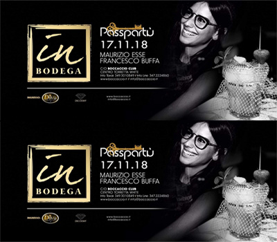 IN BODEGA - PASSPARTU' - Boccaccio Club