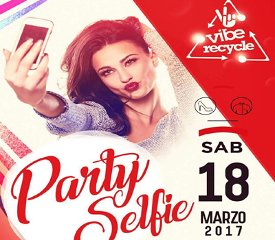 VIBE - VIBE RECYCLE - PARTY SELFIE - Boccaccio Club