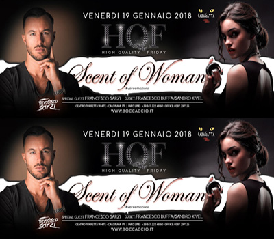 HQF - CARAGATTA - SCENT OF WOMAN - Boccaccio Club