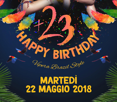 VIPERA - HAPPY BIRTHDAY - Boccaccio Club