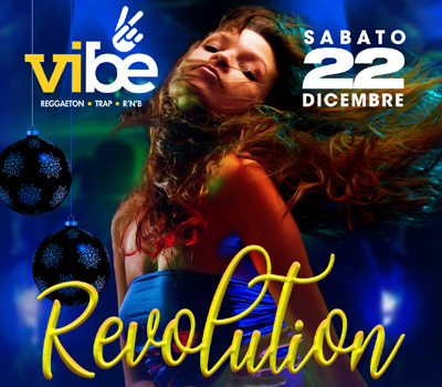 VIBE - REVOLUTION - Boccaccio Club