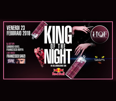 HQF - CARAGATTA - KING OF THE NIGHT - Boccaccio Club