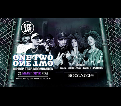 VIBE - ONE TWO ONE TWO - Boccaccio Club
