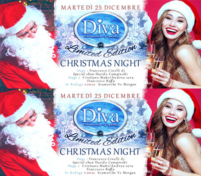 DIVA - CHRISTMAS NIGHT - Boccaccio Club