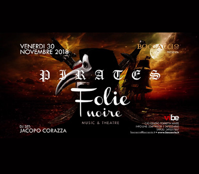 FOLIE NOIRE - PIRATES - Boccaccio Club