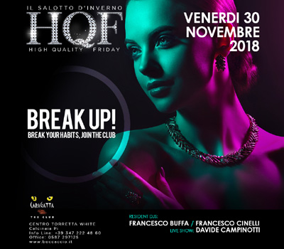 HQF - CARAGATTA - BREAK UP! - Boccaccio Club