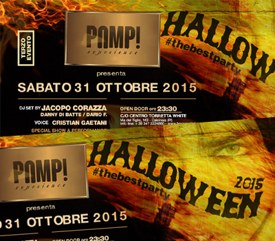 PAMP! HALLOWEEN #thebestparty - Boccaccio Club